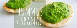 Hummus cu Spanac | Adriana Popovici
