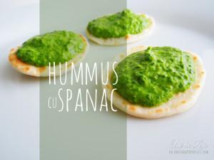Hummus cu Spanac
