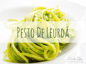 Paste cu Pesto de Leurda